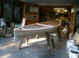 Canoe in progress 2